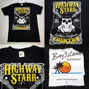 Highway Starr Country Concert Tour Album Tee Tshir